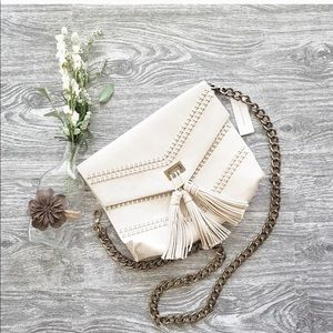 NWT Anthropologie Camilla Corded clutch/crossbody